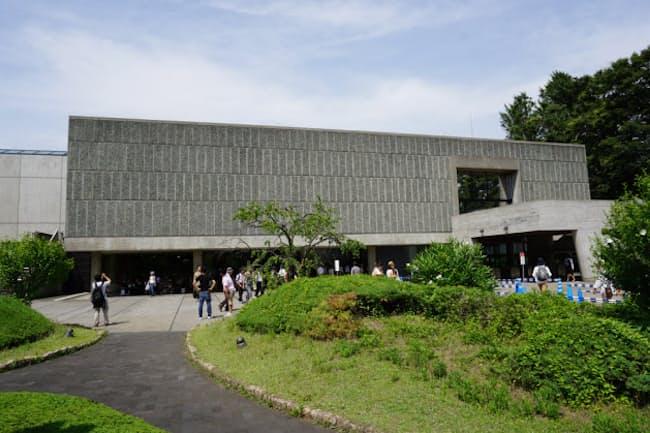 2016年7月、世界遺産登録が決まった国立西洋美術館の本館。1959年に開館した。主にフランスで活躍した建築家、ル・コルビュジエ(1887-1965年)が設計した