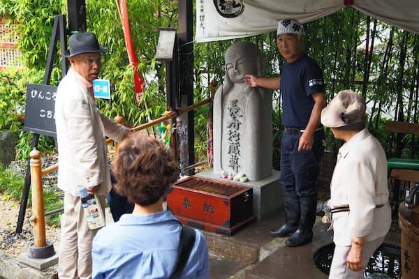 「ぴんころ地蔵尊」に昨年は高齢者ら15万人が訪れた(長野県佐久市)