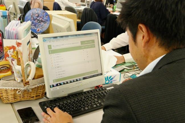 レオパレス21では85%の従業員がストレス検査を受検した