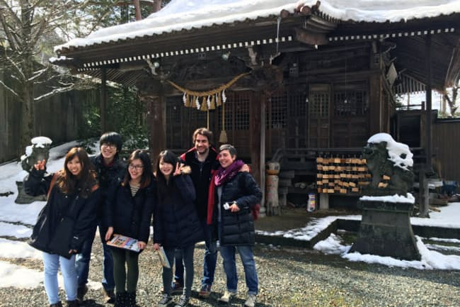 外国人観光客を呼び込む事業を一手に引き受ける(宮城・鳴子温泉)