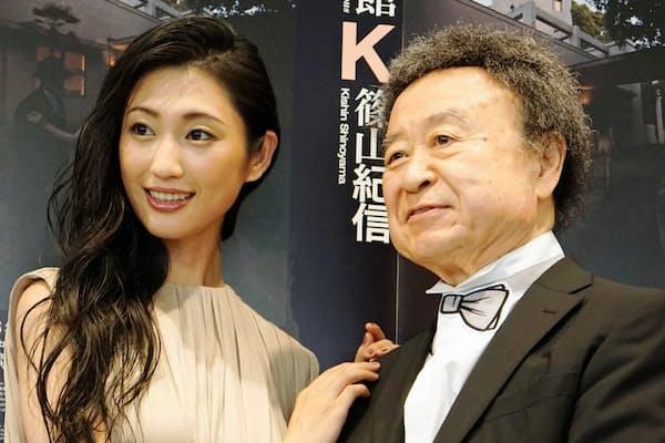 壇蜜さんと篠山紀信氏
