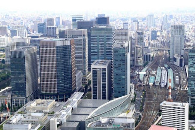 JR東京駅付近には地上390メートルのビルが完成する(東京都千代田区)
