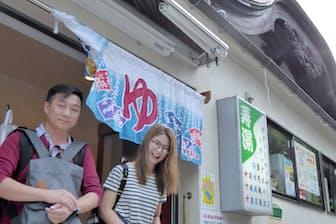 銭湯は外国人観光客にも人気だ(東京都台東区の寿湯)