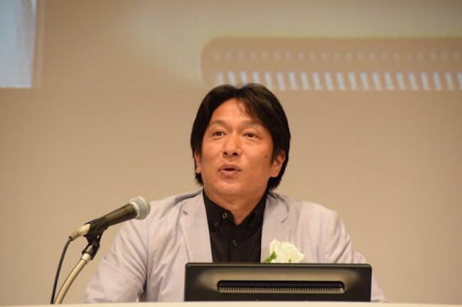 「IT Japan2016」(主催:日経BP社、2016年7月6~8日)で講演した青山学院大学陸上競技部監督の原晋氏