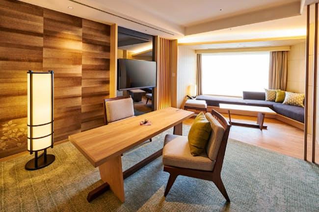 目黒雅叙園は和風デザインの客室が今月に稼働した