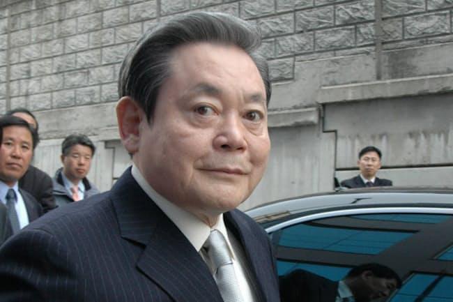 韓国サムスン電子会長の李健熙氏