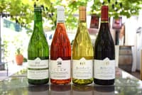 「ココ・ファーム・ワイナリー」のワイン。「風のルージュ」は洞爺湖サミットで振る舞われた