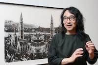 おがわ・しんじ 1959年山口生まれ。三重大学教育学部美術科卒。東海市ACT'91ACT大賞受賞。「無限風景画」のワークショップを国内外で実施している。