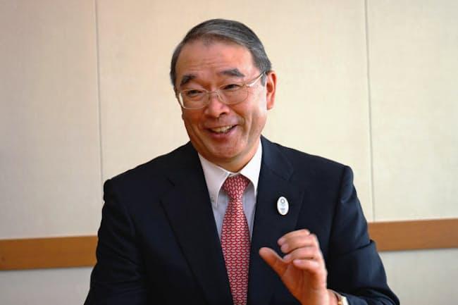 NECの遠藤信博会長