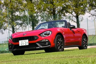 アバルト「124スパイダー」。「フィアット/アルファ ロメオ」「クライスラー/ジープ」を抱えるFCAグループのブランドの一つ。2009年の国内正規導入以来、アバルトにとって日本は重要な市場の一つだという