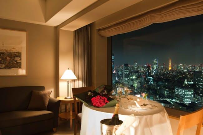 部屋からも一歩も出ない「巣ごもり」では、眺めも重要に(写真提供:セルリアンタワー東急ホテル)