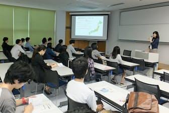 静岡産業大学は学生向けに労働法講座を開いた