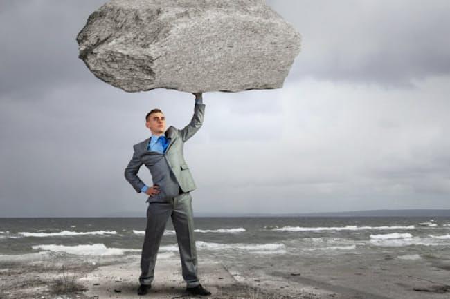 心を鍛えれば重いプレッシャーにも楽々打ち勝てる!?(c)Sergey Nivens -123rf