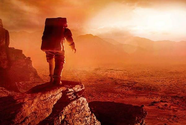 火星にたどり着いた人間には、驚くような光景が待っている。(Lockheed Martin)