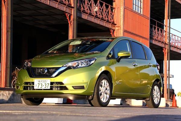 2016年11月2日に発売となった日産自動車「ノート e-POWER」。税込み価格は177万2280~224万4240円