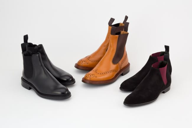 ブーツなのに脱ぎ履きがしやすいサイドゴアはビジネスにも生かせる