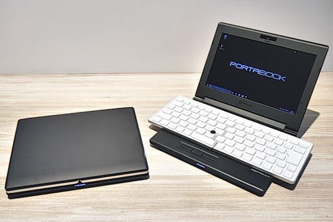 キングジム初のパソコンという点と、独自の折りたたみ式キーボードが話題を呼んだ「ポータブック XMC10」。販売開始から9カ月を目前とした11月上旬、突然格安での投げ売りが始まった