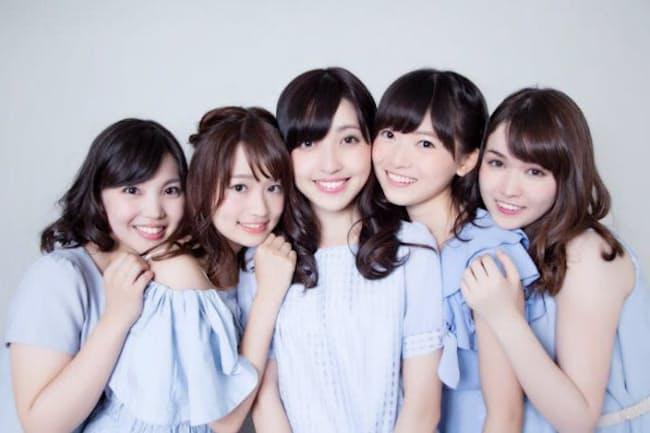 ミス東大コンテストに出場した5人の女子東大生