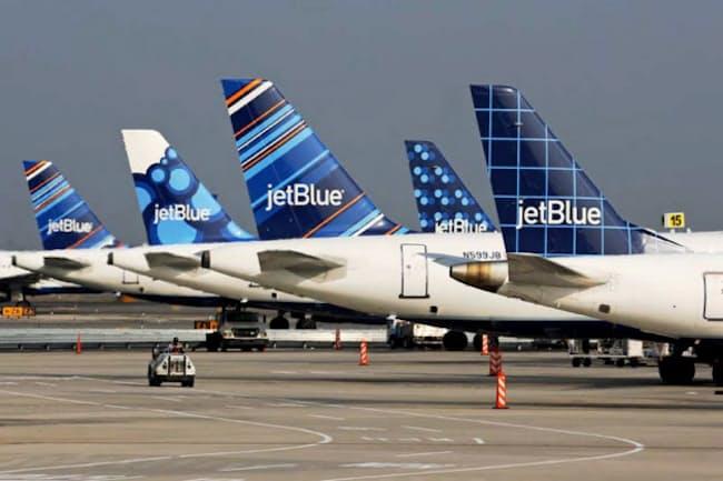 ジェットブルーは米東海岸を拠点にLCCを展開している