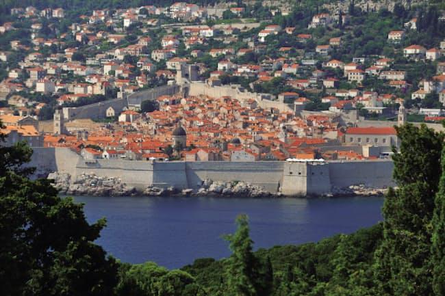 海洋貿易で栄えたドブロブニクの美しい街並み