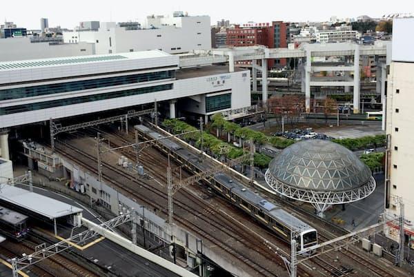 JR千葉駅の外観