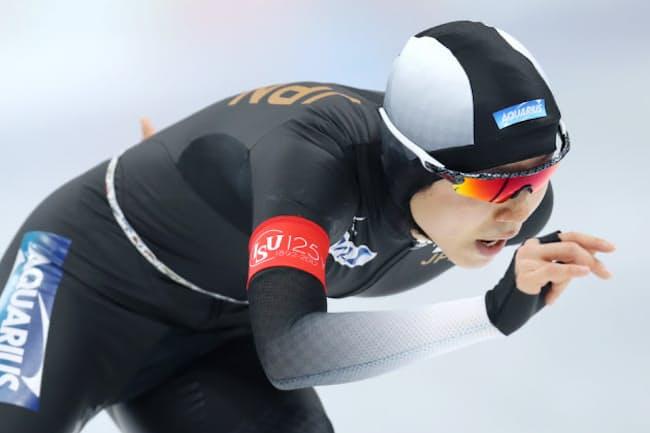 平昌冬季五輪に出場する高木美帆さん(2017年2月のスピードスケート世界距離別選手権)