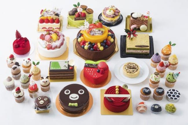 東京駅にある商業施設「グランスタ」で買えるケーキたち