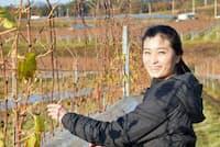 中央葡萄酒・醸造責任者の三沢彩奈さん