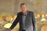 中央葡萄酒の三沢茂計社長