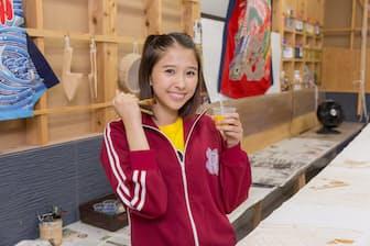 ももいろトラディショナル第2シーズンは玉井詩織さんが千葉県鴨川市で真祝に挑戦しました