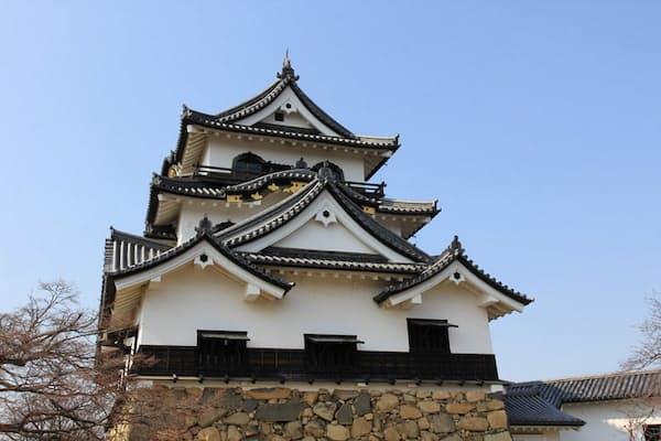 彦根のシンボルである彦根城天守