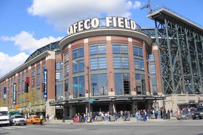 シアトルにあるマリナーズの本拠地、セーフコ・フィールド