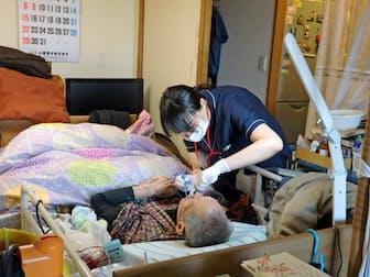 あぜりあ歯科診療所では歯科衛生士の訪問歯科件数が増えている(東京都豊島区)