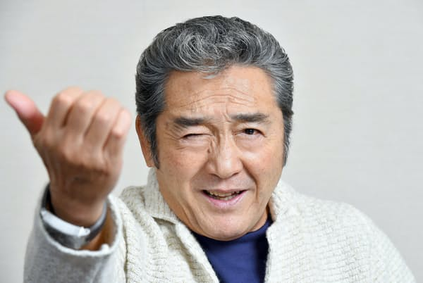 釣り人としても一流だった俳優の松方弘樹さん(2015年9月のインタビューで撮影)
