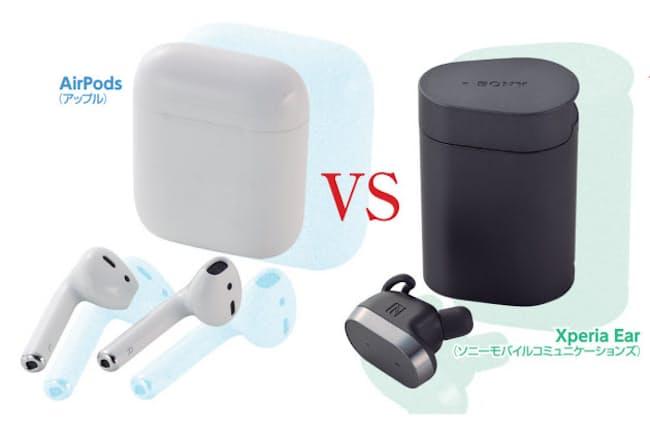 アップルAirPods vs ソニーXperia Ear