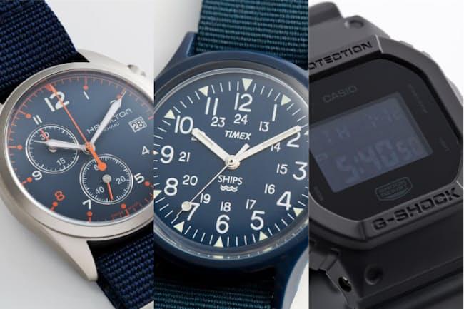 有名ブランドの人気モデルをセレクトショップがアレンジした別注時計たち