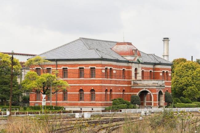 官営八幡製鉄所の遺構「旧本事務所」(提供=北九州市世界遺産課)