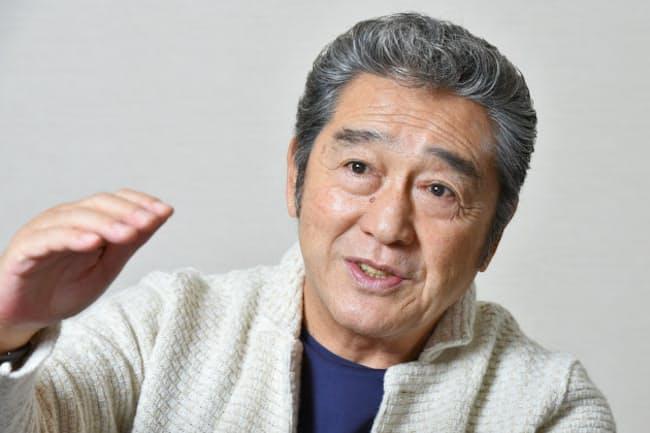 生前の松方弘樹さん(2015年9月)