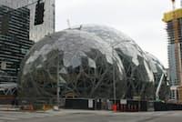 シアトルにあるアマゾンの新オフィス「アマゾン・バイオスフィア」