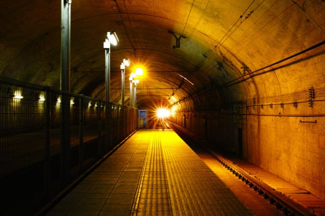 JR上越線の土合(どあい)駅=PIXTA