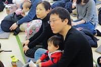 「保育園増やし隊@武蔵野」が2月5日に開いた交流会。希望の保育所に入れなかった保護者が多数集まった
