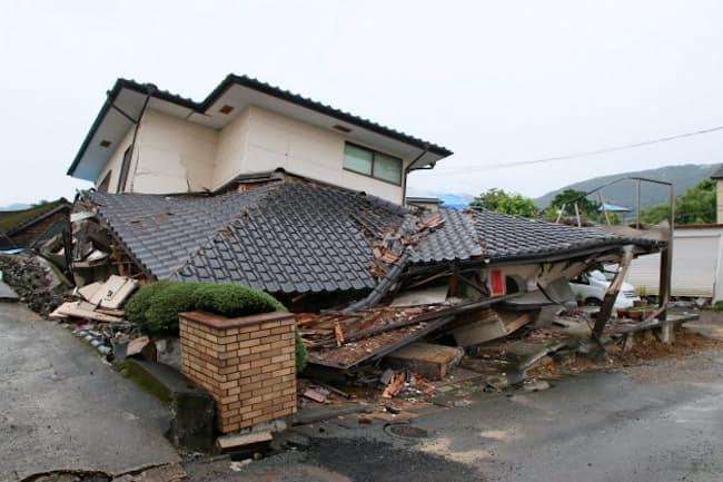 2016年4月に発生した熊本地震では住宅被害が18万棟を超えた
