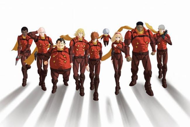 『CYBORG009 CALL OF JUSTICE』。製作は石森プロとプロダクション・アイジー。アニメーション制作は、シグナル・エムディとOLMデジタル。(c) 2016 「CYBORG 009」 製作委員会