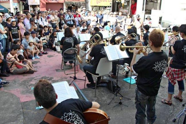 昨年開催された「ヨコスカ トモダチ JAZZ」