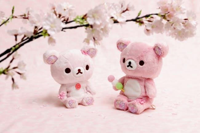サンエックスが発売した桜リラックマ