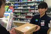 利用者の9割は3日以内に取りにくる(東京都豊島区のファミリーマートサンシャイン南店)
