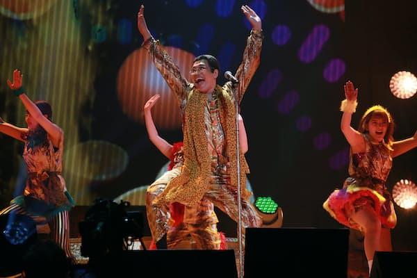 3月6日に武道館で開かれたピコ太郎のライブ『PPAPPT』