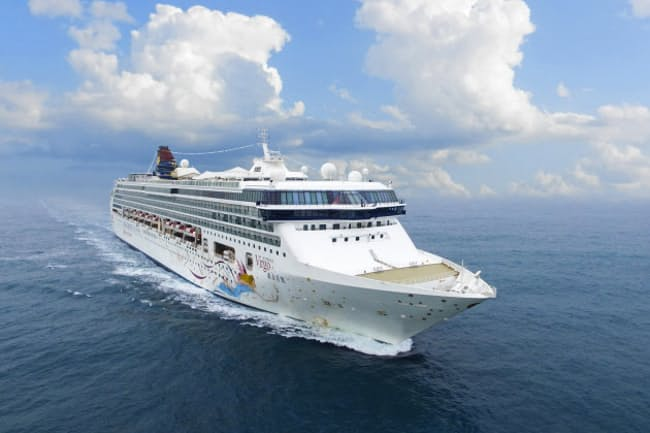 7月から横浜港に定期就航する「スーパースター・ヴァーゴ」