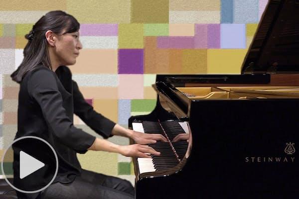 ウェーベルンの現代音楽弾く ピアニスト・瀬川裕美子