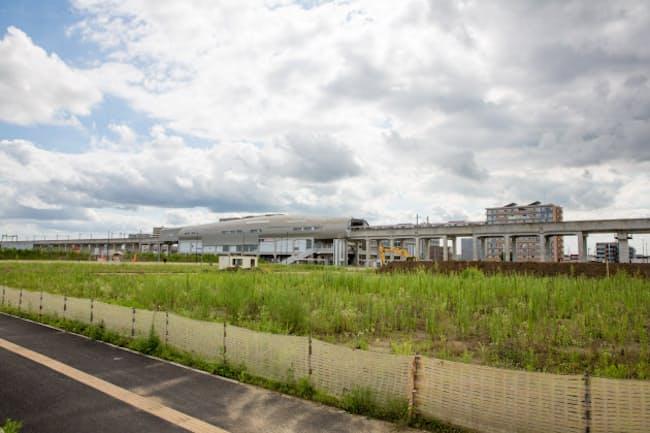 今年の公示地価で最も下落率が高かったのは千葉県柏市大室の住宅地だった(PIXTA)